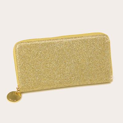 deux lux デュラックス グリッター 長財布 DL1108-05 ゴールド