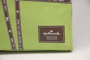Hallmark ホールマーク リボン柄 トートバッグ HB4B-P61038 グリーン